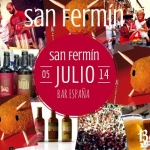 SAN FERMÍN ALTERNATIVO EN BAR ESPAÑA